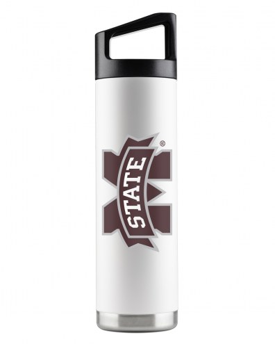 Mississippi State Bulldogs 22 oz. Stainless Steel Powder Coated Water Bottle