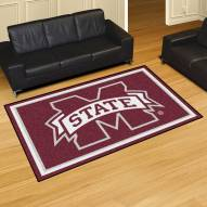 Mississippi State Bulldogs 4' x 6' Area Rug