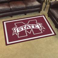 Mississippi State Bulldogs 5' x 8' Area Rug
