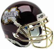 Mississippi State Bulldogs Alternate 4 Schutt Mini Football Helmet