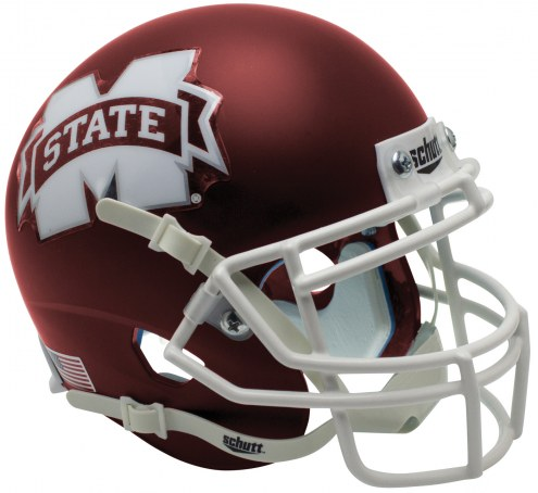 Mississippi State Bulldogs Alternate 5 Schutt XP Collectible Full Size Football Helmet