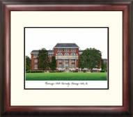Mississippi State Bulldogs Alumnus Framed Lithograph