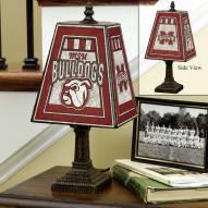 Mississippi State Bulldogs Art Glass Table Lamp