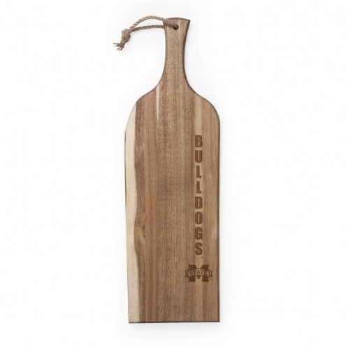 """Mississippi State Bulldogs Artisan 24"""" Acacia Serving Plank"""