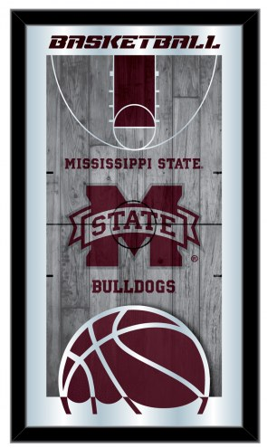 Mississippi State Bulldogs Basketball Mirror
