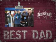 Mississippi State Bulldogs Best Dad Clip Frame
