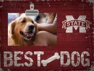 Mississippi State Bulldogs Best Dog Clip Frame
