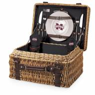 Mississippi State Bulldogs Black Champion Picnic Basket
