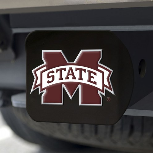 Mississippi State Bulldogs Black Color Hitch Cover