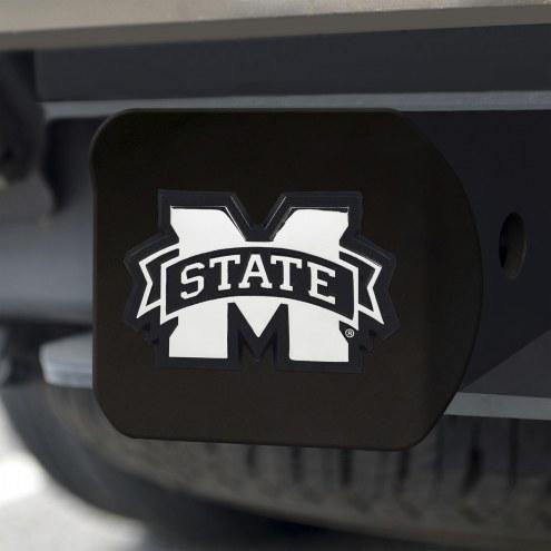 Mississippi State Bulldogs Black Matte Hitch Cover