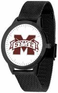 Mississippi State Bulldogs Black Mesh Statement Watch