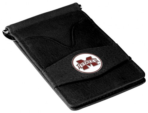 Mississippi State Bulldogs Black Player's Wallet