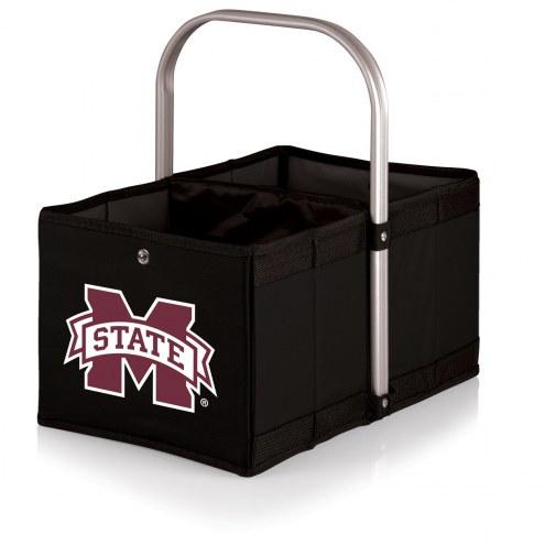 Mississippi State Bulldogs Black Urban Picnic Basket
