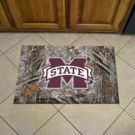 Mississippi State Bulldogs Camo Scraper Door Mat