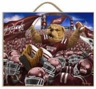 Mississippi State Bulldogs Celebration Plaque