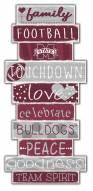 Mississippi State Bulldogs Celebrations Stack Sign