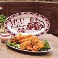 Mississippi State Bulldogs Ceramic Serving Platter