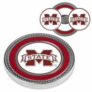 Mississippi State Bulldogs Challenge Coin with 2 Ball Markers