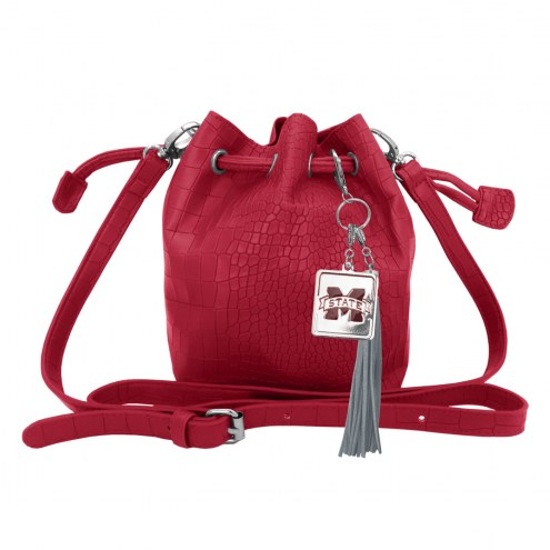 Mississippi State Bulldogs Charming Mini Bucket Bag
