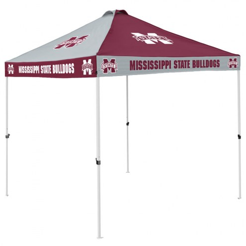 Mississippi State Bulldogs 9' x 9' Checkerboard Tailgate Canopy Tent