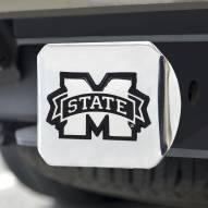 Mississippi State Bulldogs Chrome Metal Hitch Cover