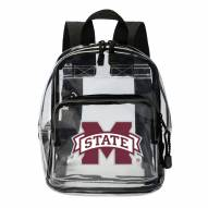 Mississippi State Bulldogs Clear Stadium Mini Backpack
