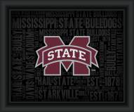 Mississippi State Bulldogs College Word Cloud