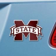 Mississippi State Bulldogs Color Car Emblem