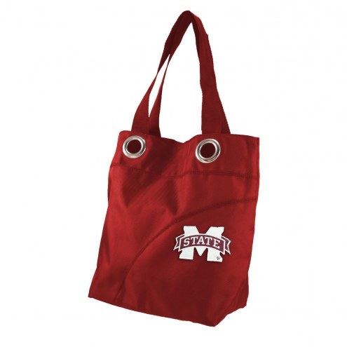 Mississippi State Bulldogs Color Sheen Tote Bag