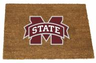 Mississippi State Bulldogs Colored Logo Door Mat