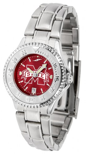 Mississippi State Bulldogs Competitor Steel AnoChrome Women's Watch