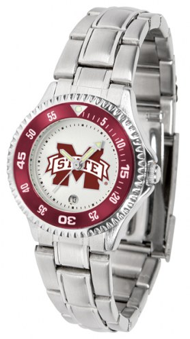 Mississippi State Bulldogs Competitor Steel Women's Watch