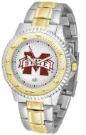 Mississippi State Bulldogs Competitor Two-Tone Men's Watch