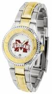 Mississippi State Bulldogs Competitor Two-Tone Women's Watch