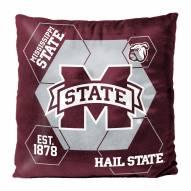 Mississippi State Bulldogs Connector Double Sided Velvet Pillow
