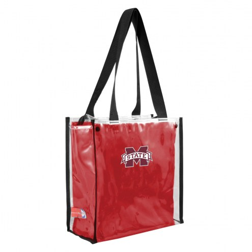 Mississippi State Bulldogs Convertible Clear Tote