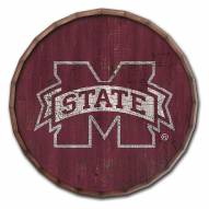 """Mississippi State Bulldogs Cracked Color 16"""" Barrel Top"""