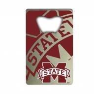Mississippi State Bulldogs Credit Card Style Bottle Opener