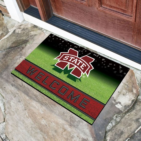 Mississippi State Bulldogs Crumb Rubber Door Mat