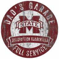 Mississippi State Bulldogs Dad's Garage Sign