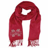 Mississippi State Bulldogs Dark Red Pashi Fan Scarf