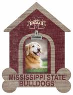 Mississippi State Bulldogs Dog Bone House Clip Frame