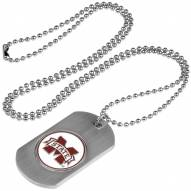 Mississippi State Bulldogs Dog Tag