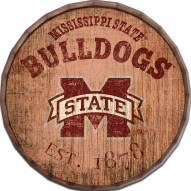 """Mississippi State Bulldogs Established Date 24"""" Barrel Top"""