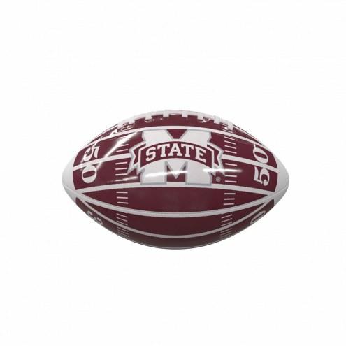 Mississippi State Bulldogs Field Mini Glossy Football