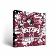 Mississippi State Bulldogs Fight Song Canvas Wall Art