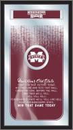 Mississippi State Bulldogs Fight Song Mirror