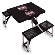 Mississippi State Bulldogs Folding Picnic Table