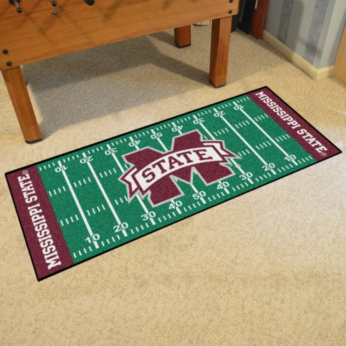 Mississippi State Bulldogs Football Field Runner Rug
