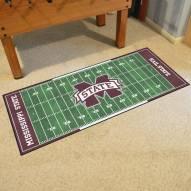 Mississippi State Bulldogs Football Field Runner Rug